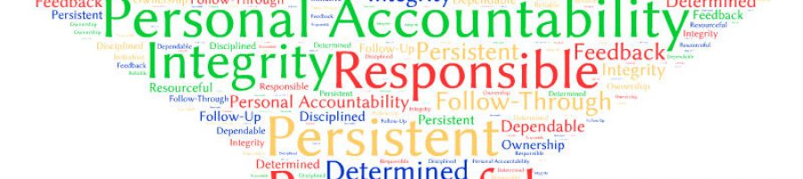 Personal Accountability